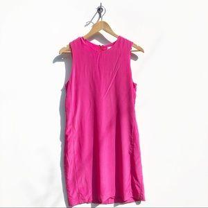 Cynthia Rowley Dresses - Cynthia Rowley Pink 100% Silk Dress size 6